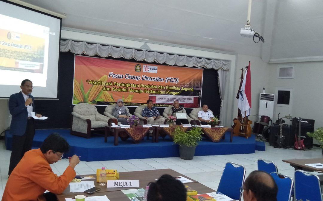 Wujudkan Ketahanan Pangan di Jawa Tengah, FPP UNDIP Sinergikan Stakeholder Hulu-Hilir
